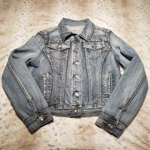 Earl Jeans Blingy Distressed Jean Jacket for sale